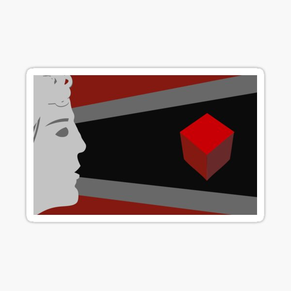 Mithridates and the Cube Sticker