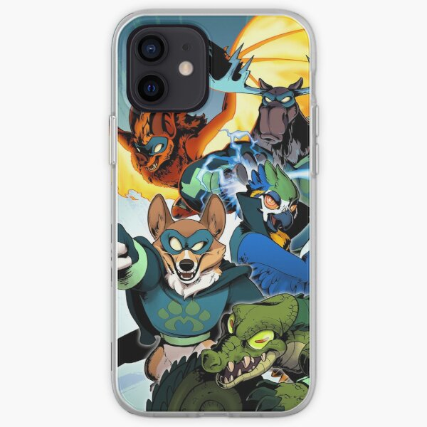 The Mighty Menagerie iPhone Soft Case