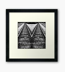 Divergent Paths Framed Print