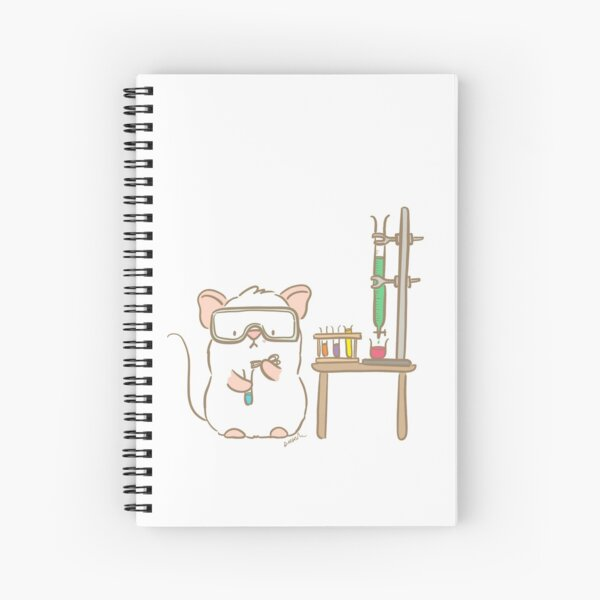 Lab Mouse Spiral Notebook
