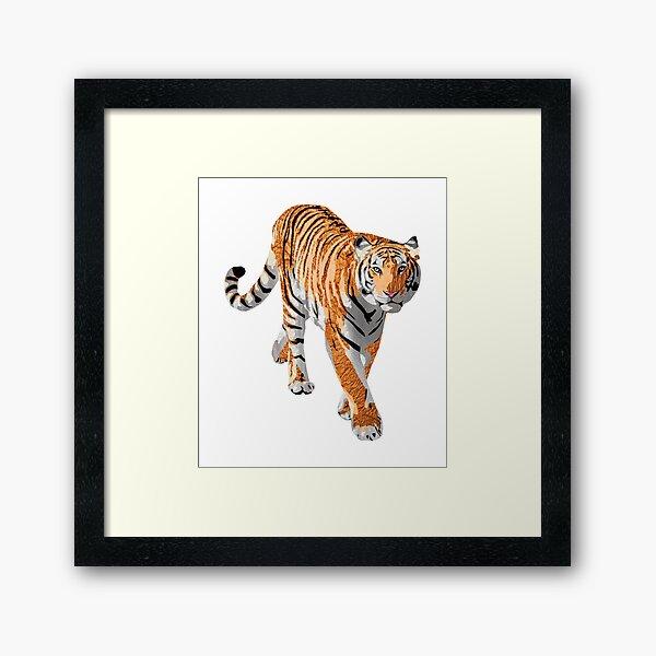 Tiger - Laudea Martin Framed Art Print