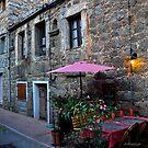Dining in red in Porto Vecchio by Alessandra Antonini