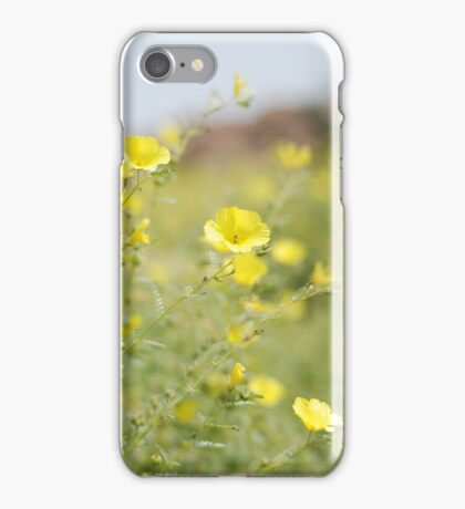 in the desert, namibia.  iphone/samsung galaxy cover iPhone Case/Skin