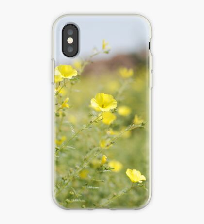 in the desert, namibia.  iphone/samsung galaxy cover iPhone Case