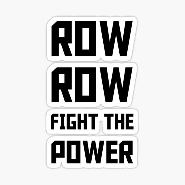 Gurren Lagann - Row Row Fight the Power Sticker