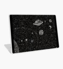 Vinilo para portátil Espacio negro