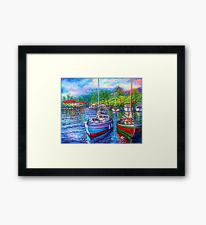 Afternoon Reflections  1 Framed Print