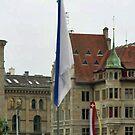 Zurich View From Pedestrian Bridge by leystan