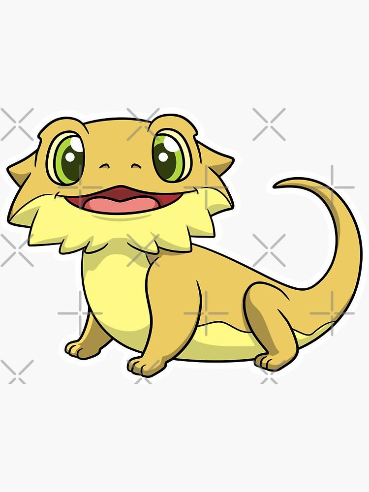 Little Dude the Bearded Dragon by PogonaVitticeps