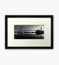 The Full Span ANZAC Bridge -Sydney Framed Print