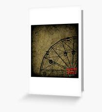 Wonder Wheel Greeting Card