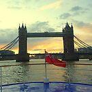 Tower Bridge London by Meladana
