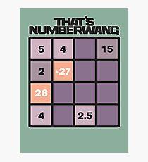 numberwang Photographic Print