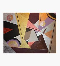 Lined Triangles Photographic Print