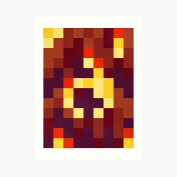 Pyromancer Art Print