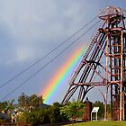 Rainbow Headframe by Ruth Anne  Stevens