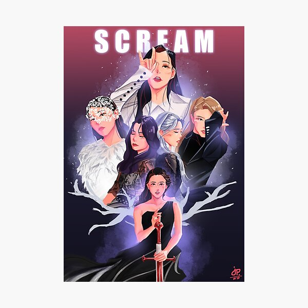 Dreamcatcher Scream Lámina fotográfica
