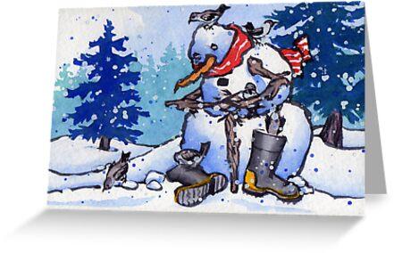 Snow Tweet by Lori Lukasewich
