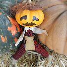 Goober the Pumpkin  by WildestArt