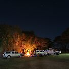 Camp at Musgrave Station Roadhouse FNQ by Chris Cohen