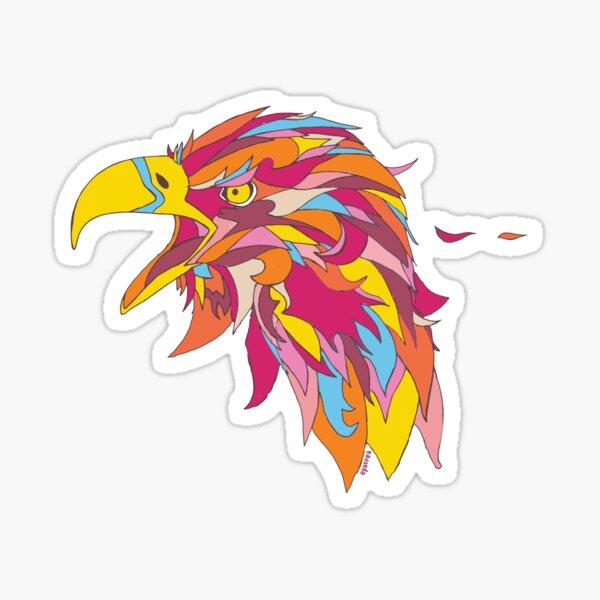 Aigle doré Sticker