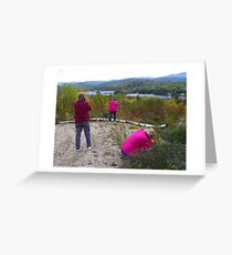 Three Sisters with Cameras Greeting Card