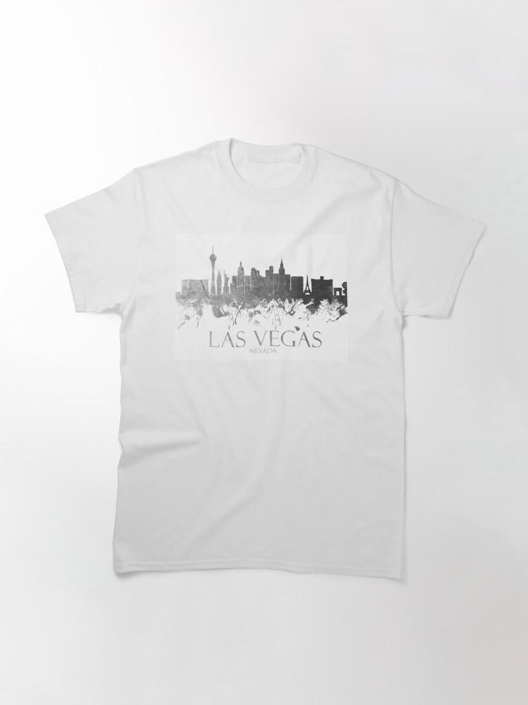 Alternate view of Las Vegas Nevada Skyline - 18 Classic T-Shirt