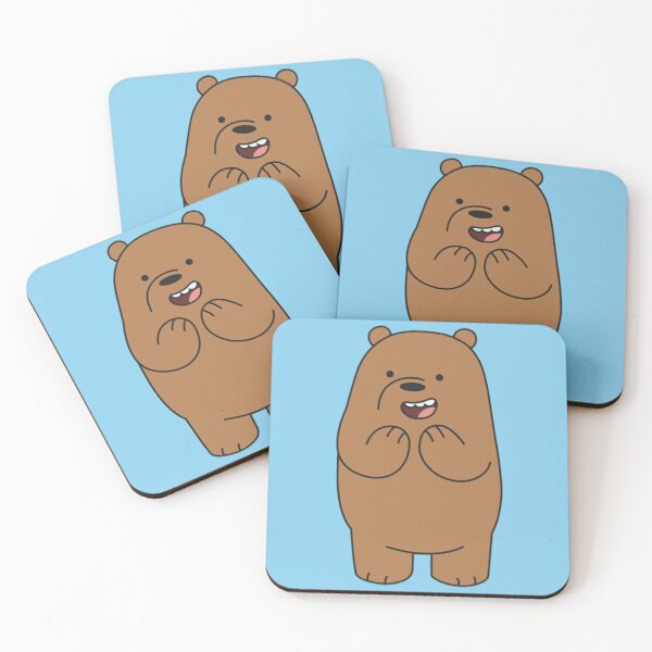 Grizzly Coasters (Set of 4)