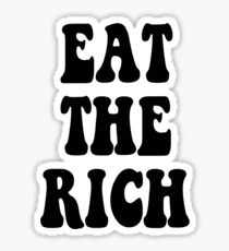 Eat the Rich Occupy Wall Street Sticker