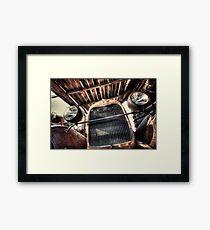 Cabin Cruiser Framed Print