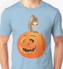 Squirrel on the Pumpkin T-Shirt