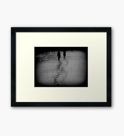 Our paths would cross again.. Framed Print