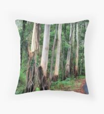 The Forest - Bev Woodman Throw Pillow
