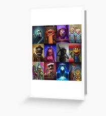 Muppet Maniacs Series 1 Greeting Card