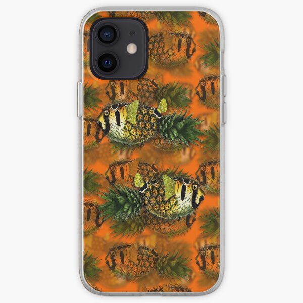 pineapple puffer phish [pppfff!!!] iPhone Soft Case