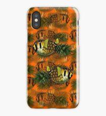 pineapple puffer phish [pppfff!!!] iPhone Case