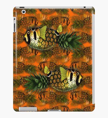pineapple puffer phish [pppfff!!!] iPad Case/Skin
