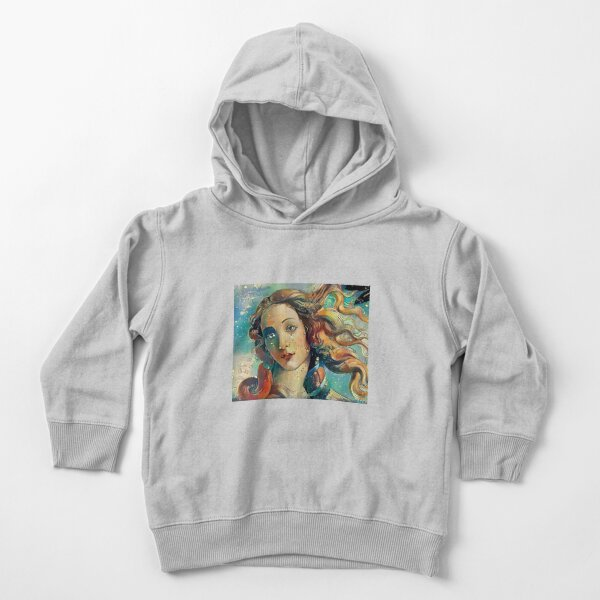 The Birth of Venus (Botticelli) Makeover Toddler Pullover Hoodie