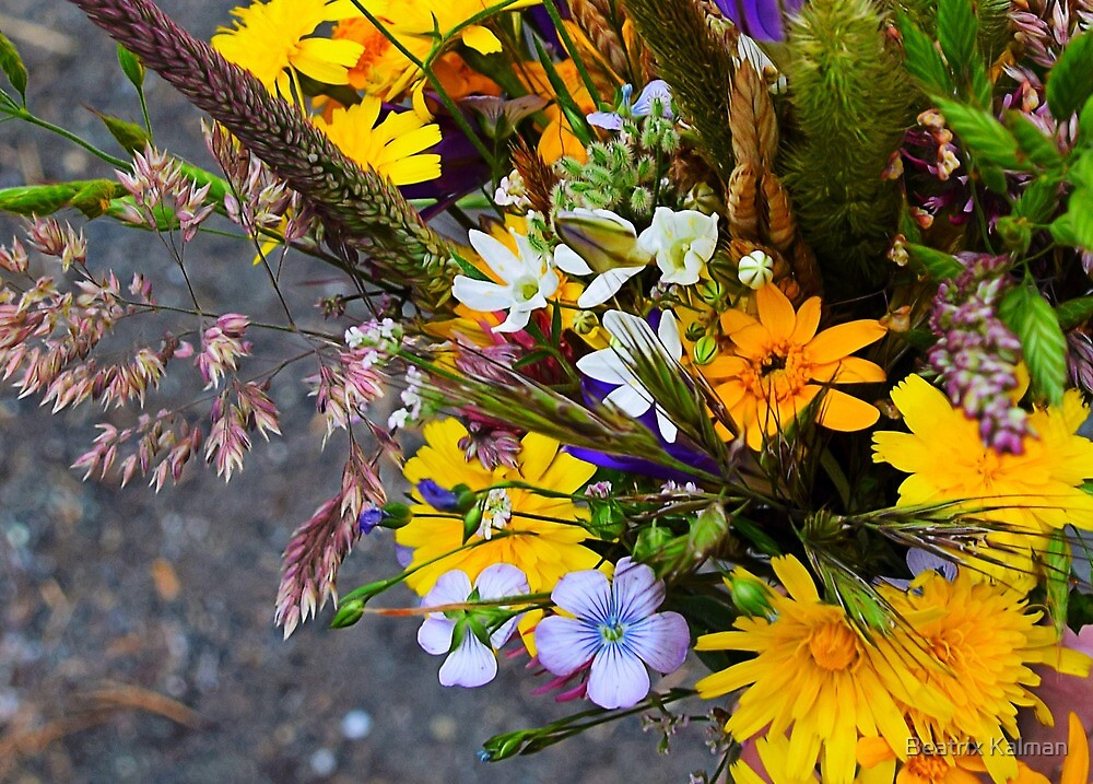 Wildflower Bouquet by BMV1