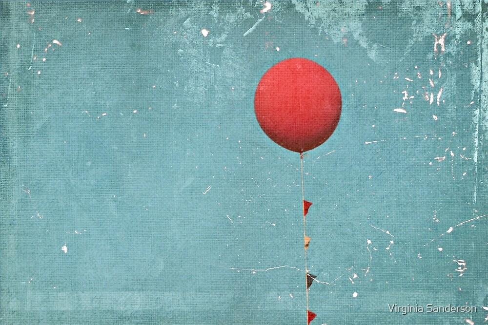 Big Red Balloon by Virginia Sanderson