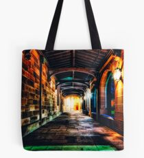 Hallowed Falls of Learning Tote Bag