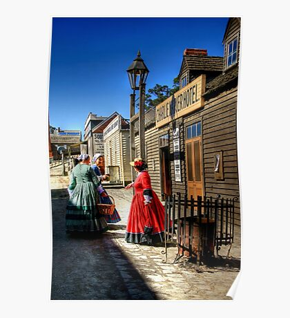Stepping Back in Time at Sovereign HIll Poster