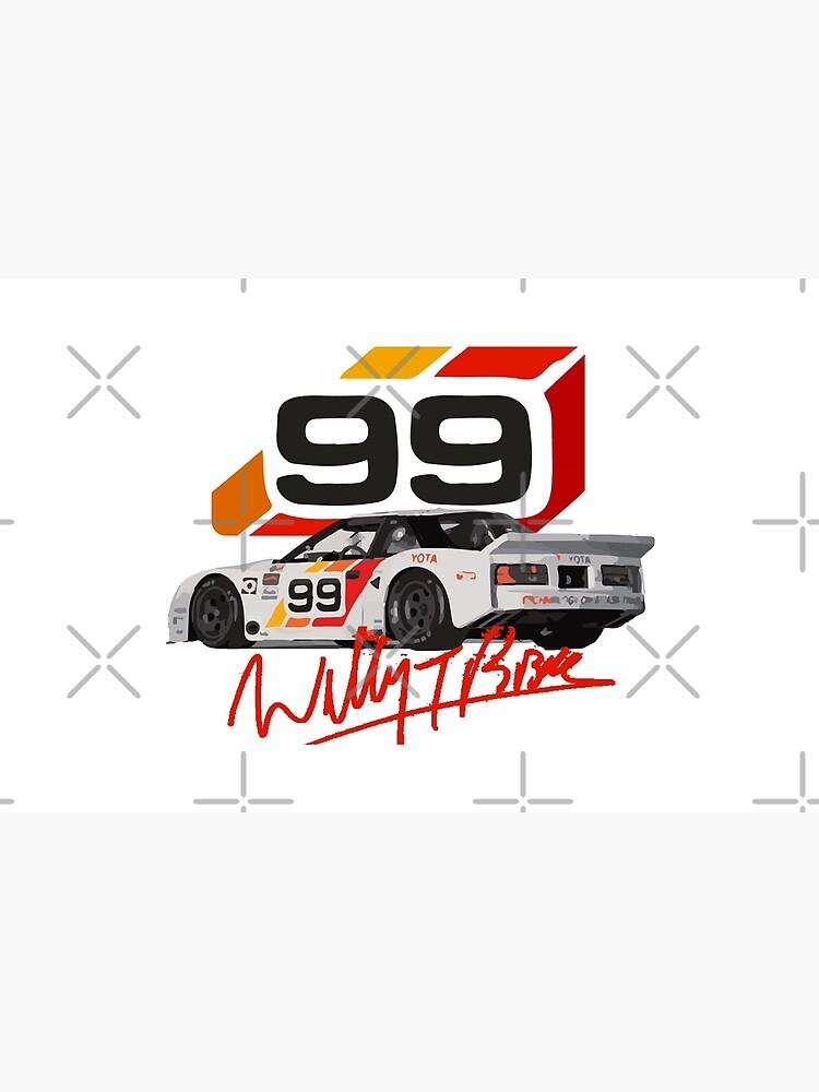 Willy T Ribbs Celica IMSA GTO Race Car Bubble-free sticker