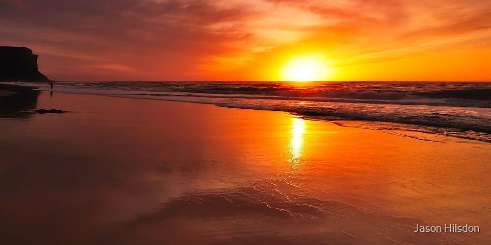 Garie Beach by Jason Hilsdon