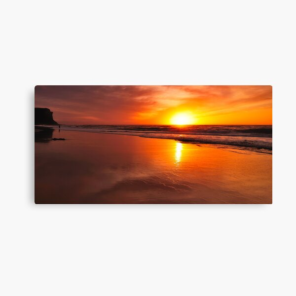 Garie Beach Canvas Print