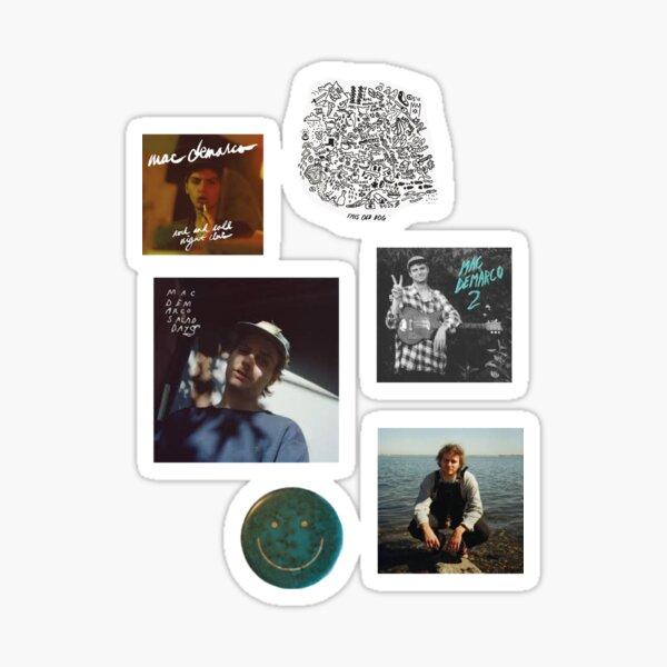 Mac Demarco Album Set Sticker