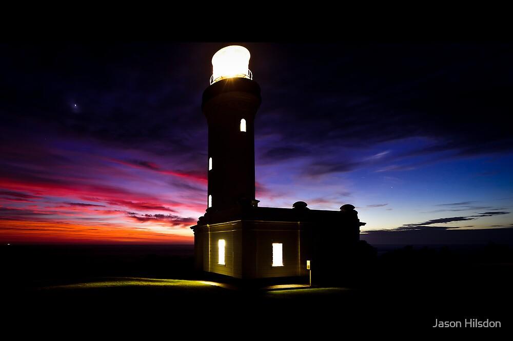 Norah Head Lighthouse by Jason Hilsdon