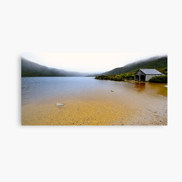The Boatshed Canvas Print