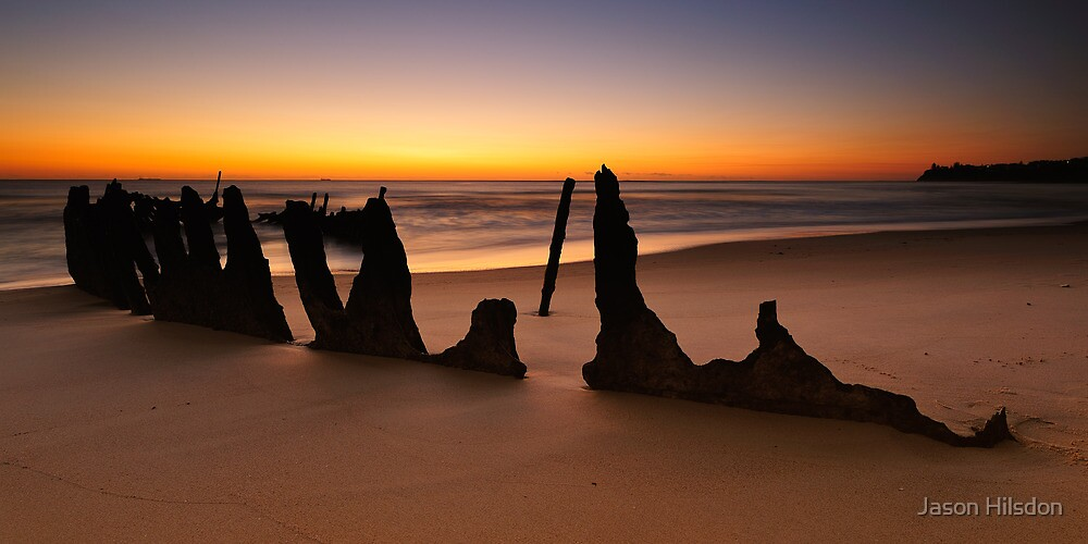 Dicky Beach by Jason Hilsdon