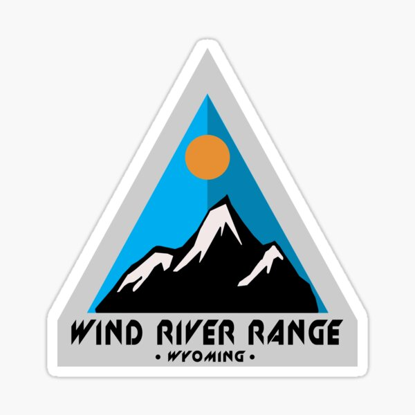 Wind River Range Sticker